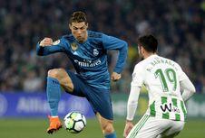 Real Madrid Catat Penguasaan Bola Terendah Musim Ini Saat Lawan Betis