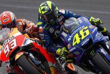 'Kata-kata Rossi soal Marquez Terlalu Jauh'