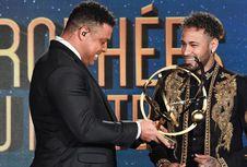 Raih Pemain Terbaik Perancis, Neymar Isyaratkan Bertahan di PSG