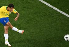 Piala Dunia 2018, Coutinho Tak Khawatir Neymar Cedera