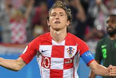 Modric: Saya Melawan Messi, Bukan Satu Tim dengan Dia