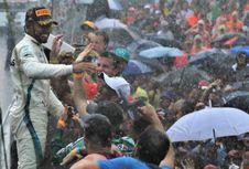 F1 GP Jerman, Lewis Hamilton Terlalu Banyak Aksi Berlebihan