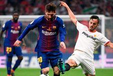 Rekor Messi Setelah Barca Juara Piala Super Spanyol
