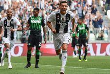 Ronaldo Tinggalkan Tugas Negara demi Gol Juventus