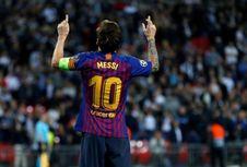 Alba Sebut Messi yang Terbaik dan Kecam FIFA The Best 2018