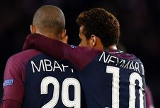 Neymar Prediksi Mbappe Akan Jadi Pemain Terbaik dalam Sejarah
