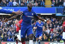 Hasil Chelsea Vs Man United, Gol Ross Barkley Selamatkan The Blues