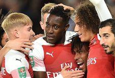 Sporting CP Vs Arsenal, Welbeck Jadi Penentu Kemenangan