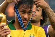 Marcelo Persilakan Neymar Hijrah ke Real Madrid