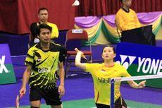 Malaysia Masters 2019, Tontowi/Debby Dihentikan Pasangan Belanda