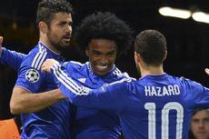 Willian Sebut Hazard Sebagai Pemain Penting Bagi Chelsea
