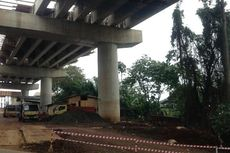 Rekayasa Lalin di Proyek Simpang Susun Antasari Diterapkan Sabtu