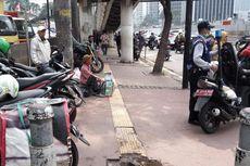Trotoar di Jalan Sudirman Akan Bermotif Lurik