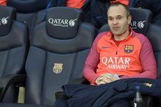 Iniesta Jadi Korban Kemenangan Barcelona