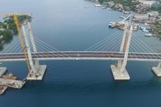 Jembatan Merah Putih Jadi Lokasi Perayaan Pergantian Tahun di Ambon