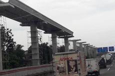 Konstruksi Proyek LRT Ambrol di Pulogadung, 5 Orang Jadi Korban