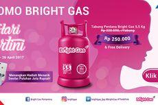 Rayakan Hari Kartini dengan Promo Spesial dari Bright Gas Pertamina