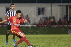 Evan Dimas, Ilham Udin, dan Ezra Absen pada Hari Pertama TC Timnas