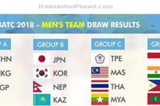 Tim Putra Indonesia di Grup Relatif Mudah pada Kualifikasi Piala Thomas