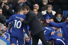 Barcelona Versus Chelsea, Conte Ungkap Beda Hazard dan Iniesta