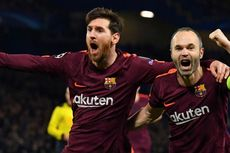 April, Iniesta Bikin Keputusan soal Masa Depan di Barcelona