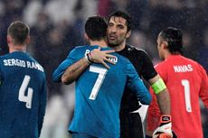 Buffon Senang Ronaldo Tak Lagi Jadi Mimpi Buruk Juventus