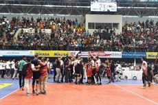 Tim Putra Samator Juara Proliga 2018