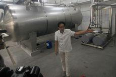 """Sido Muncul Trial Mesin Pabrik Terbaru """"Cairan Obat Dalam"""""""