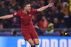 Bahagia di AS Roma, Edin Dzeko Ogah Balik ke Liga Inggris