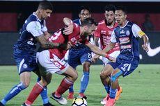 Hasil Liga 1, Bali United Menang, Arema Tertahan di Dasar Klasemen