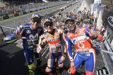 MotoGP Perancis, Selebrasi Unik Marquez Rayakan Kemenangan Ketiganya