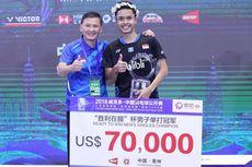 Semifinal Jadi Target Realistis Anthony di BWF World Tour Finals 2018