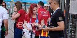 Peran Penting Relawan di Stadion Luzhniki