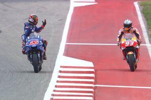 Kembali Berulah pada Kualifikasi GP Amerika, Marquez Minta Maaf