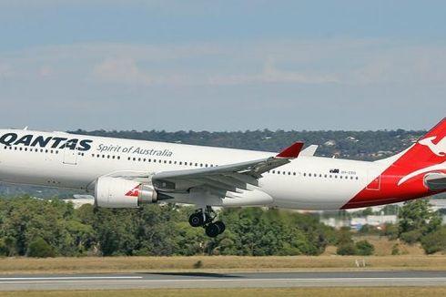 Tersiram Air Panas di Pesawat, Penumpang Qantas Tuntut Ganti Rugi