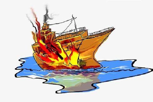 Polisi Periksa Kapal Dishub yang Meledak di Kepulauan Seribu