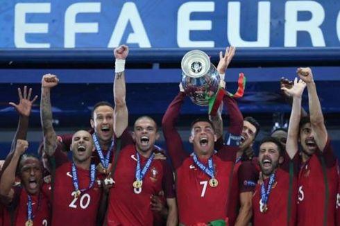 [VIDEO] Sejarah Hari Ini, Ronaldo Antarkan Portugal Juara Euro 2016