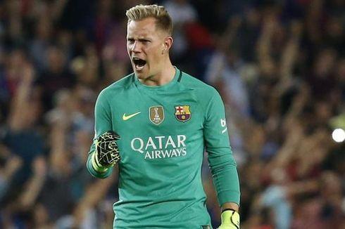 Ter Stegen Absen Bela Barcelona pada Final Copa del Rey