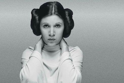 Penggemar Star Wars Kenang Dua Tahun Meninggalnya Carrie Fisfer