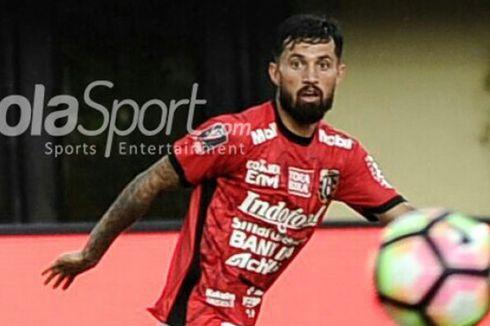 Statistik Lilipaly Saat Bali United Taklukkan Borneo FC
