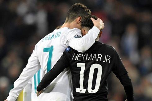 Xavi Sebut Neymar Lebih Baik daripada Ronaldo