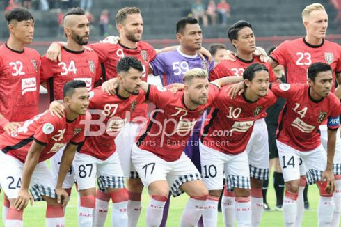 Piala AFC, Bali United Menang 3-1 dan Raih Tripoin Perdana