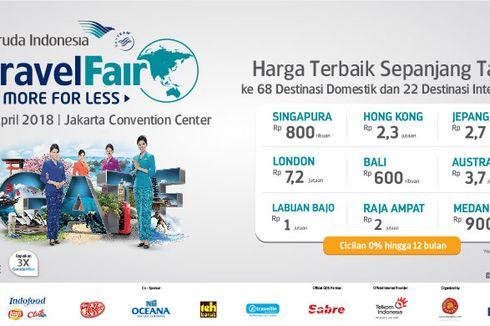 "Garuda Indonesia Bersama Bank Mandiri  Menggelar ""Garuda Indonesia Travel Fair (GATF) 2018"""