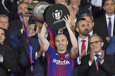 Diisukan Hengkang, Andres Iniesta Dipuji Presiden Barcelona