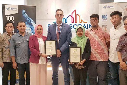 Gyproc Gypsum Board Raih Gold Award Green Label Indonesia