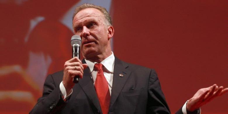 CEO Bayern Muenchen Karl-Heinz Rummenigge.
