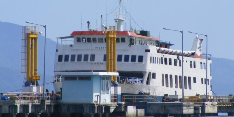Ilustrasi kapal fery
