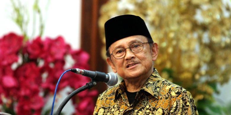 Mantan Presiden BJ Habibie.