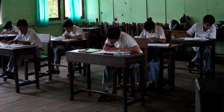 Ilustrasi siswa SMA