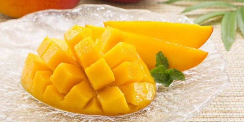 Ilustrasi buah mangga